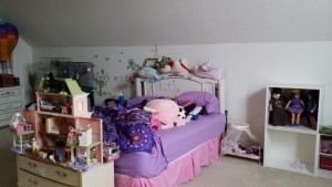 Katie's room before