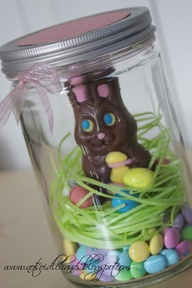 5 diy easter basket ideas candydirect mason jar easter basket negle Image collections